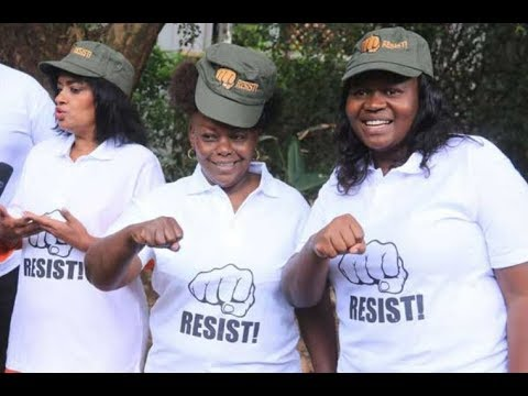 How will the Kenya police deal with Nasa's National Resistance Movement?