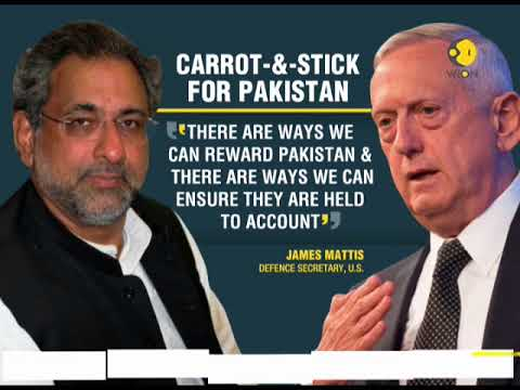 US defense secretary Jim Mattis warns Pakistan