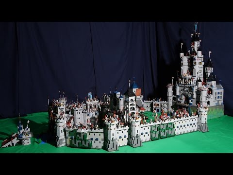 Lego Castle MOC # 1 - Royal Borough