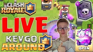 [LIVE] CLASH ROYALE HYPE deutsch/german Kevgo around