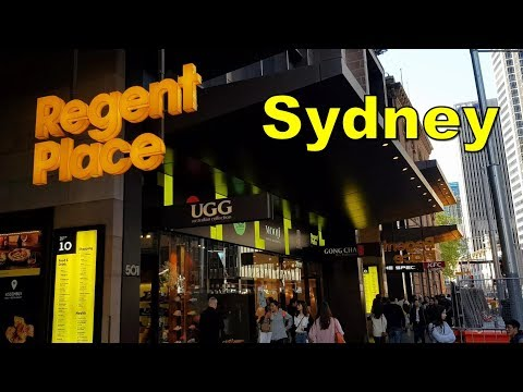 Sydney Restaurants At Regent Place Shopping Centre - Sydney Australia