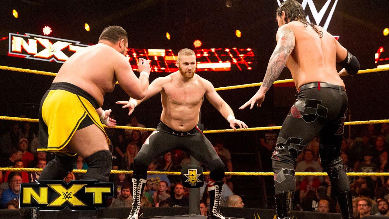 Aj 3d Wallpaper Sami Zayn Vs Baron Corbin Vs Samoa Joe Nxt Title No 1