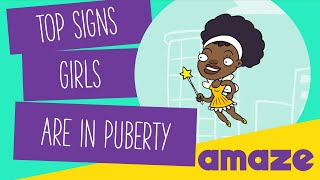 Top Signs Girls are in Puberty