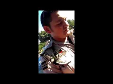automovilista Detenido por abuso de la autoridad (merida, yucatan) 13/02/17