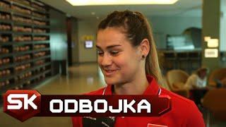 Katarina Lazović Pred Meč sa Holandijom i Ligu Nacija | SPORT KLUB Odbojka