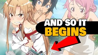 Repeat youtube video Everything Wrong With: Sword Art Online (Aincrad Arc)