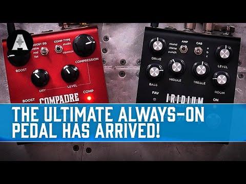 Strymon Compadre - A Boutique Compressor & Boost Pedal In One Incredible Box!