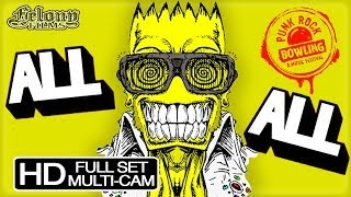 ALL - Punk Rock Bowling 2014 (full set multi cam drum cam)