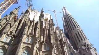Барселона, Храм Святого Семейства  Barcelona, The Sagrada Familia(Храм Святого Семейства (полное название: Искупительный храм Святого Семейства, кат. Temple Expiatori de la Sagrada Família)..., 2016-04-17T17:35:12.000Z)