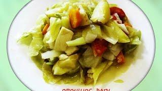Вкусное овощное рагу в мультиварке ROTEX RMC532 - W/диетическое рагу/vegetable stew