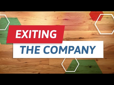 Financing Your Venture: Venture Capital - Exiting the Company