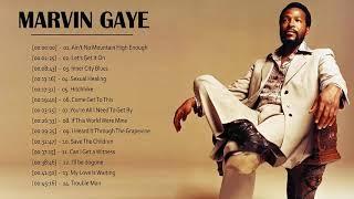 Marvin Gaye Greatest Hits Full Album - Marvin Gaye Playlist -  Marvin Gaye Tribute Album
