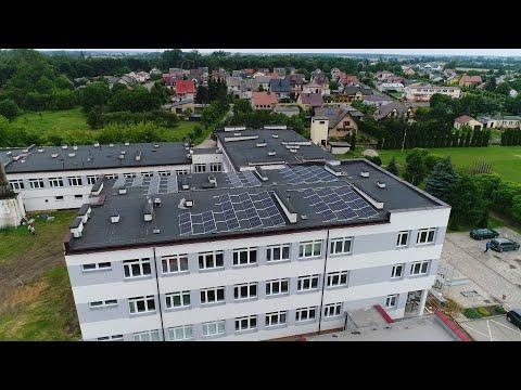 Termomodernizacja szkoły i Urzędu Gminy w Leśnej Podlaskiej