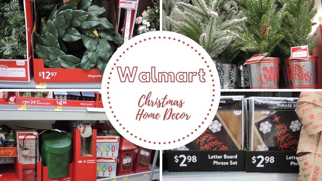 Walmart Christmas Shop With Me 2018 | New Christmas Home ...