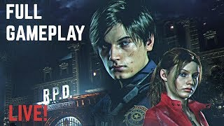 Resident Evil 2 Remake LEON Walkthrough (Full Game)