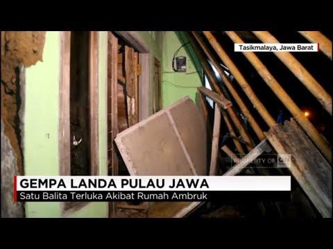 Gempa Landa Pulau Jawa, Balita Tertimbun Rumah Ambruk