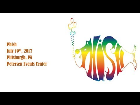 Phish - July 19th, 2017 - Pittsburgh, PA - Petersen Events Center