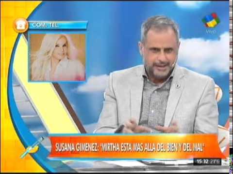 Susana Giménez salió en defensa de Mirtha Legrand