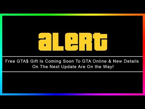 GTA Online FREE Money Gift Coming Soon, NEW GTA 5 DLC Information Revealed & MORE! (GTA V Update)