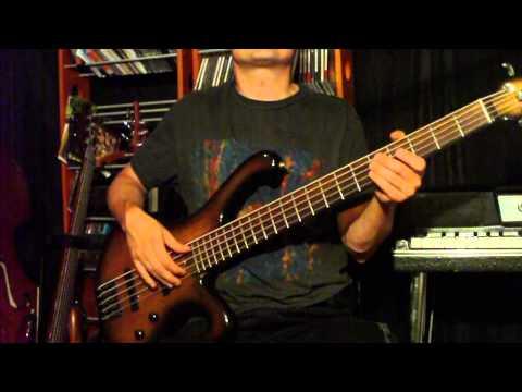 blues molowy 1 - gitara basowa z tak zwanym backing track