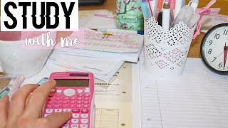 STUDY WITH ME // (sunday edition #6)