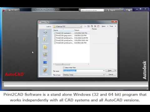 pdf to dxf converter autocad