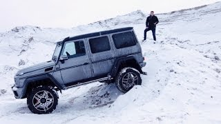 Тест Драйв Mercedes-Benz G500 4x4² [RUS/ENG SUBS] //TEST DRIVE