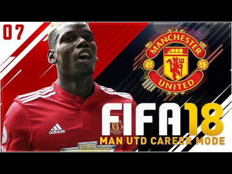 FIFA 18 Manchester United Career Mode Ep7 - ABSOLUTELY CRAZY MANCHESTER DERBY!!
