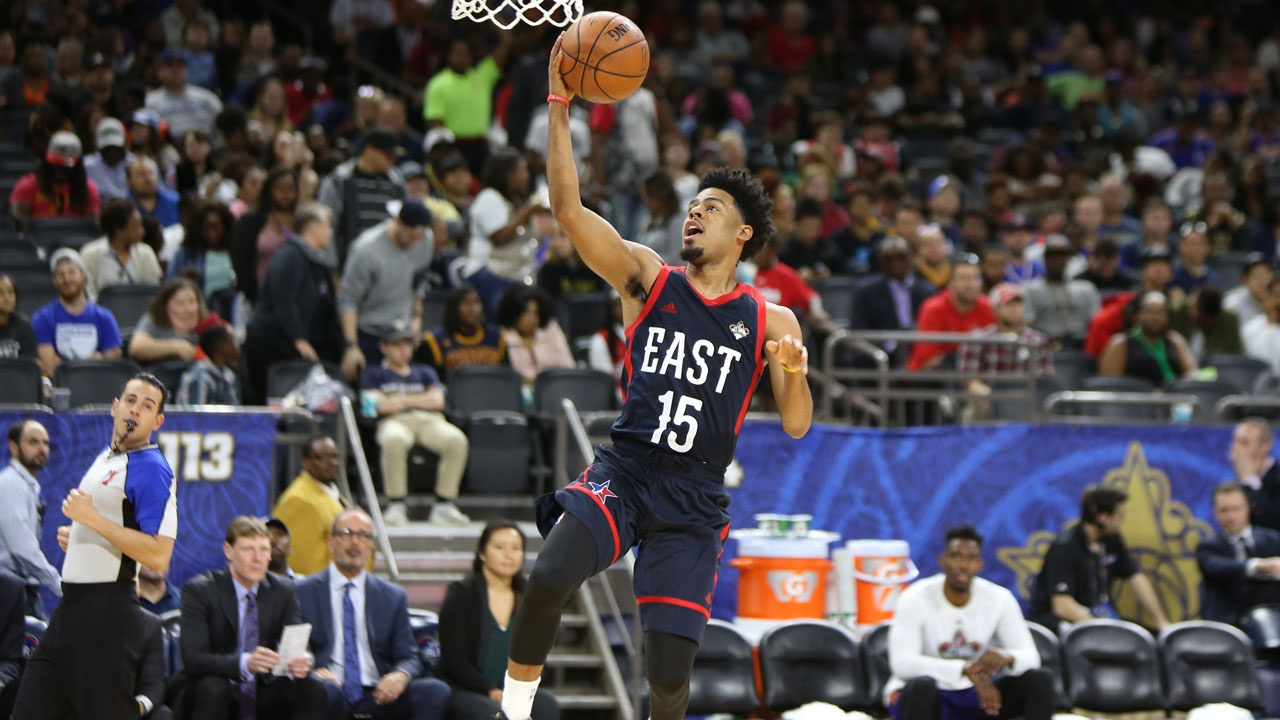 MVP Quinn Cook Drops 18 Points & 12 Assists in NBA D-League All ...