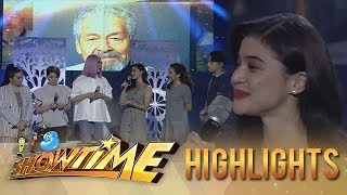 Gambar cover Anne is grateful for Eddie Garcia | It's Showtime