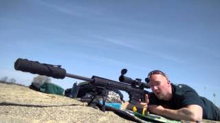 Hitting 2 Liter Bottle at 1135 Yards with Ruger Precision Rifle