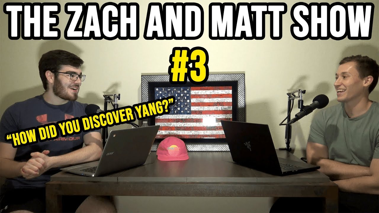 December Debate Requirements, CNN vs Fox News, and How We Discovered Yang | Zach and Matt Show #3