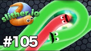 MASTEROV IS BACK ON SLITHER *MUST WATCH* | Slither.io Gameplay Part 105