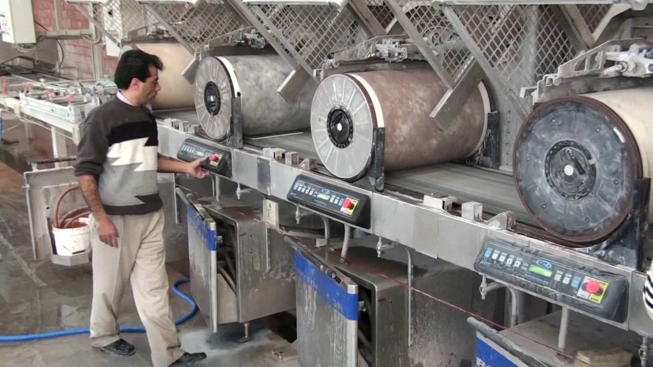 Ceramic tiles manufacturing process by Ceratec - How it\'s made - YouTube