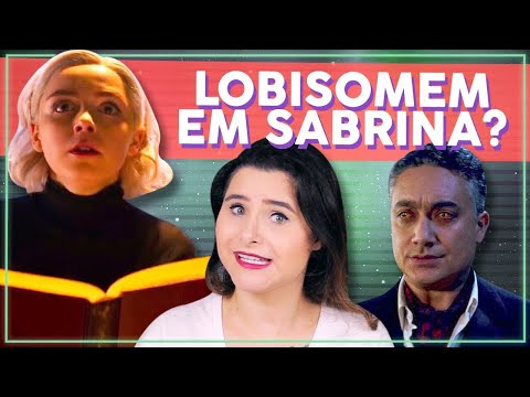 SEGREDOS DO TRAILER DE SABRINA PT 2! O Mundo Sombrio de Sabrina, Análise do Trailer | Alice Aquino
