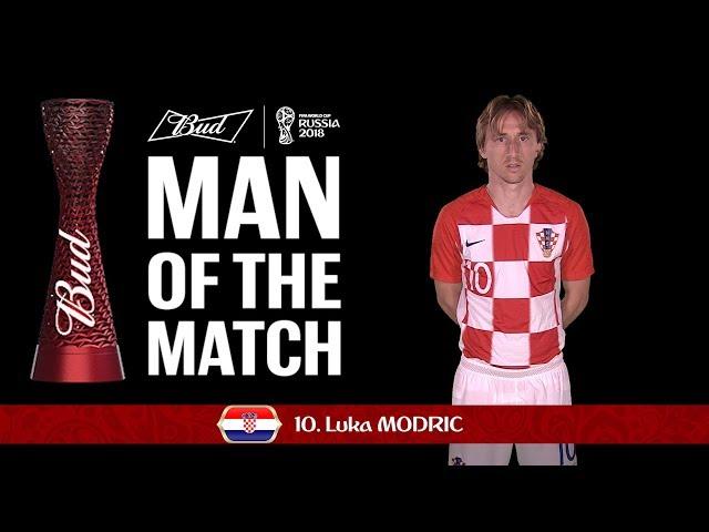 Luca MODRIC (Croatia) - Man of the Match - MATCH 59