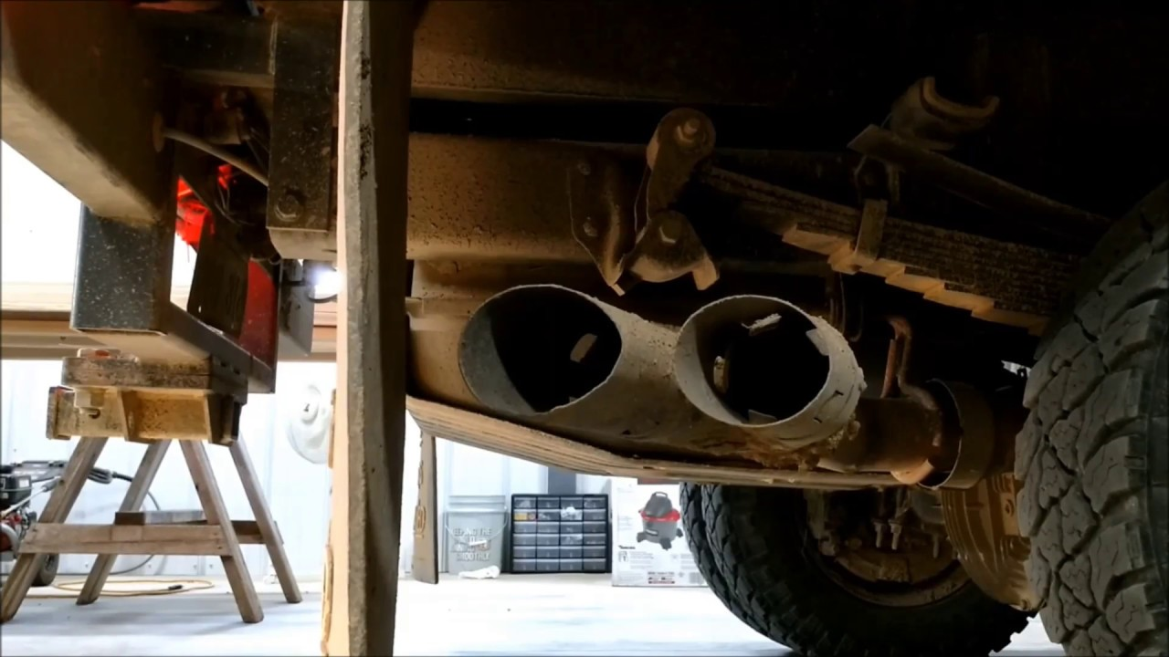 DPF Delete Before / After (6 7 Powerstroke)