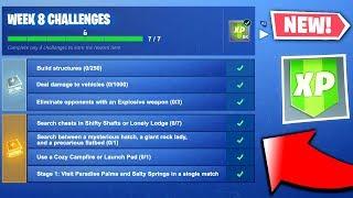 Fortnite Season 7 Week 8 Challenges LEAKED - ALL Season 7 Week 8 Challenges (Fortnite Challenges)