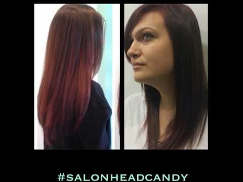 Hair color trend: Plum & Cherry Cola - YouTube