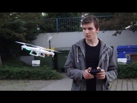 SYMA X5C Drohne Fliegen im Freien / Review