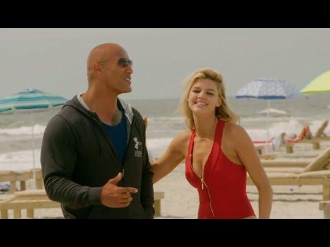 Baywatch: Behind the Scenes Movie Broll - Zac Efron, Dwayne Johnson, Pamela Anderson