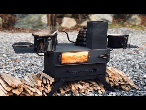 각관오븐로켓스토브/캠핑/Camping angular pipe-Oven
