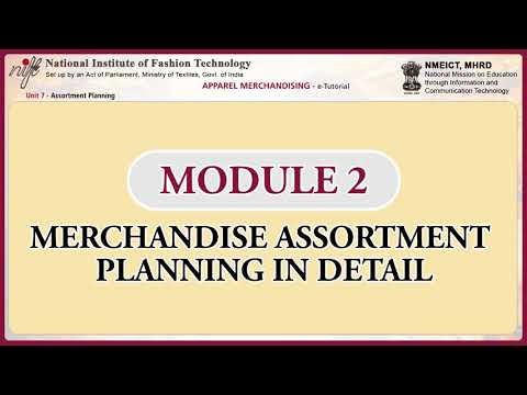 Apparel merchandising: assortment planning-1