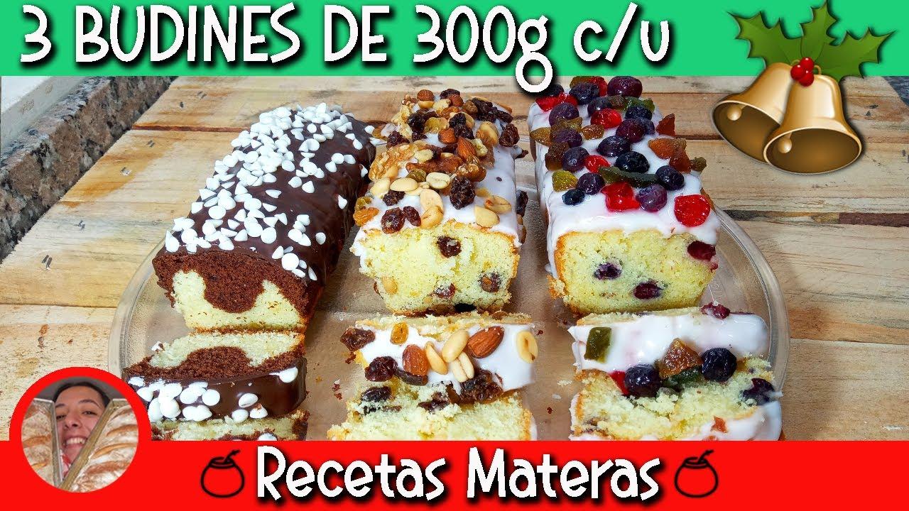 BUDINES NAVIDEÑOS| Famosa receta cuatro cuartos!