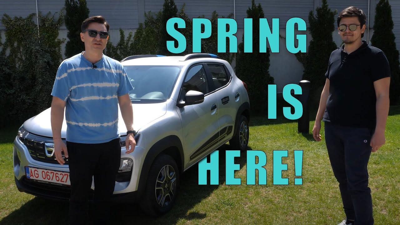 Ne-am dat cu Dacia Spring și ne-a plăcut mai mult decât credeam - Cavaleria.ro
