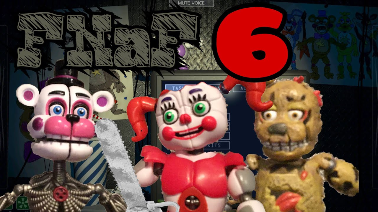 How To Make FNaF 6 Action Figures! No Sculpting Involved!