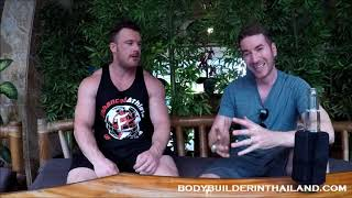 Bodybuilder in Thailand Interviews SezStyles about HOW and WHY he lives in the Philippines