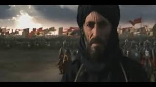 معركة الحطين مع القائد صلاح الدين و اغنية هزيم الرعد  ✌💪