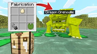 MINECRAFT MAIS JE PEUX CRAFTER DES DRAGON !!