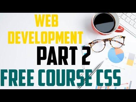 Free Complete Web Development Tutorial | CSS | Part 2 | 2020 thumbnail